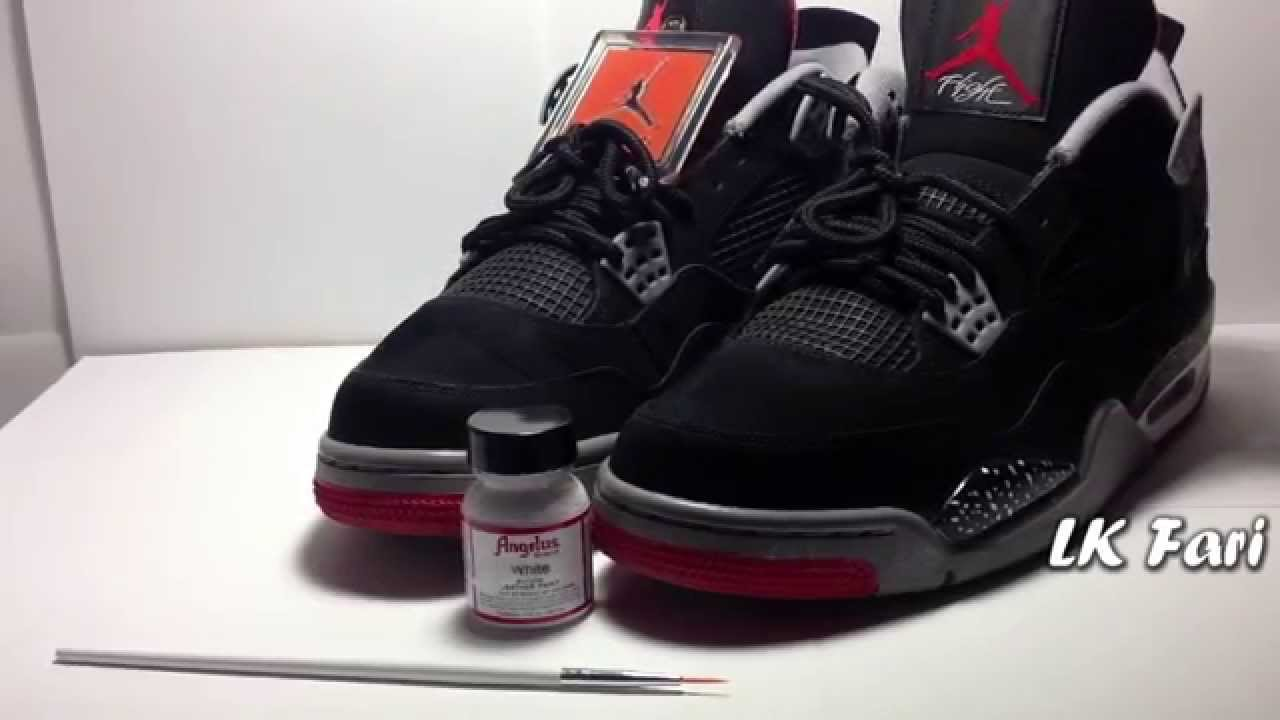 168dc891 Custom Jordans Jordan Retro 4 Speckled Breds - Inspirational ...
