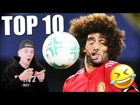 TOP 10 GRAPPIGSTE VOETBAL MOMENTEN OOIT!!