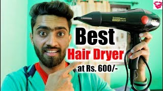 Best hair dryer under 600 | Chaoba hair dryer 2800 review