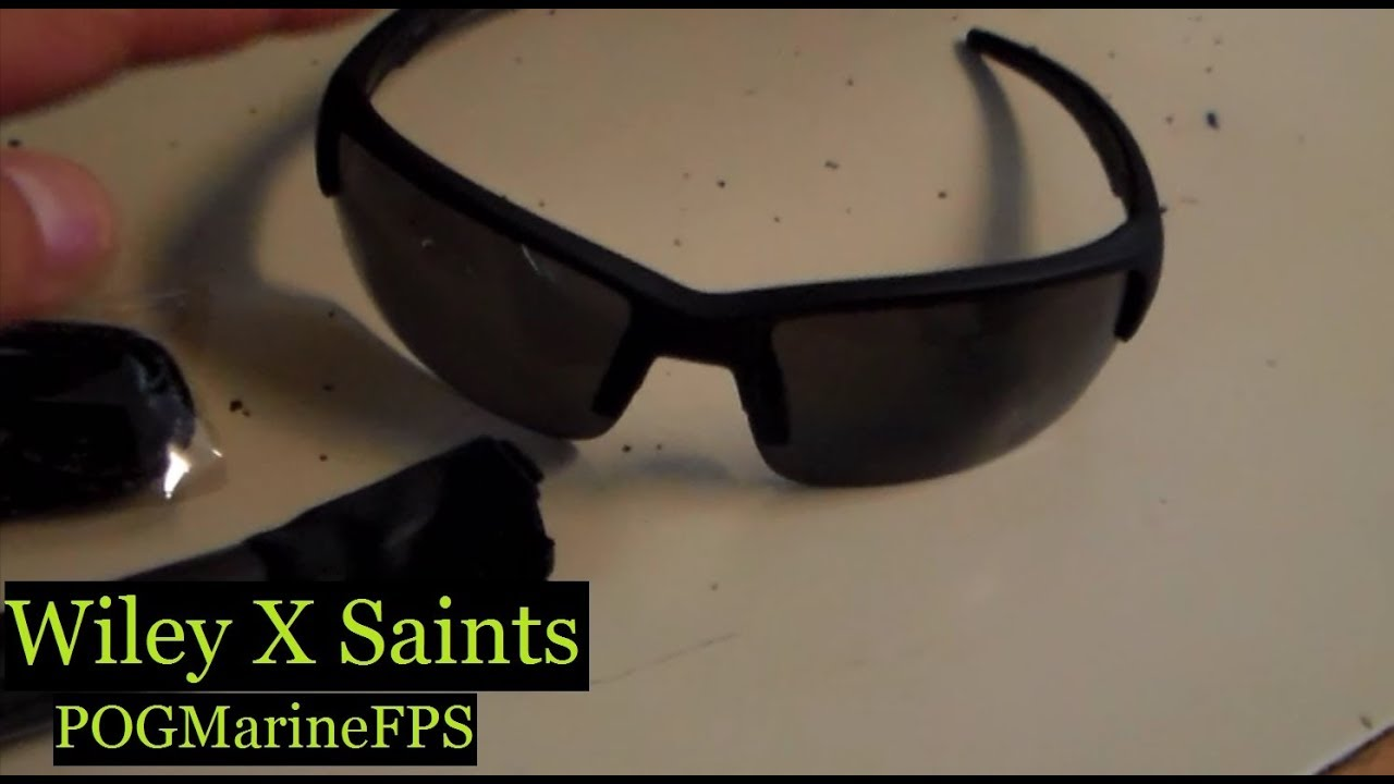 a30e922aa3f9 Wiley X Saint Sunglasses the Oakley alternitive Unboxing Video - YouTube