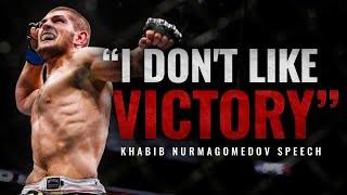 THIS SPEECH WILL MAKE YOU RESPECT HIM - Khabib Nurmagomedov Motivational Speech 2020 29/0 (+RUS SUB)
