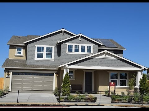 Tracy California: Residence Six - 4-5 Bedrooms - Two Story, Modern Look.