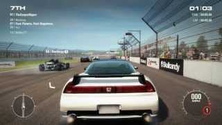 GRID 2 PC Multiplayer gameplay: Tier 3 Upgraded Honda NSX R with lvl 2 engine, lvl 2 handling setup