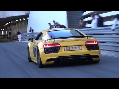 LOUD Supercar Accelerations - R8 V10, RS6, CLS63 AMG, M5 F10 & More!