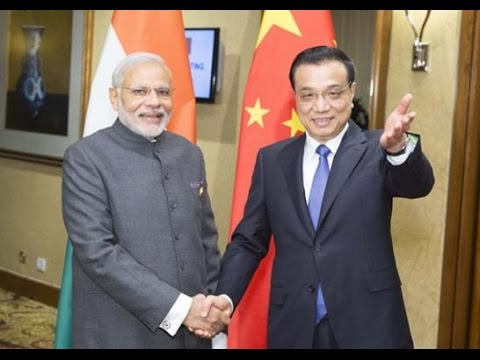 Chinese premier meets with Indian PM