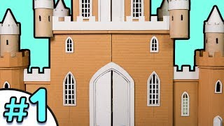 DIY Epic Cardboard Castle Part 1/3 - How to Build | Cardboard House Crafts & Projects