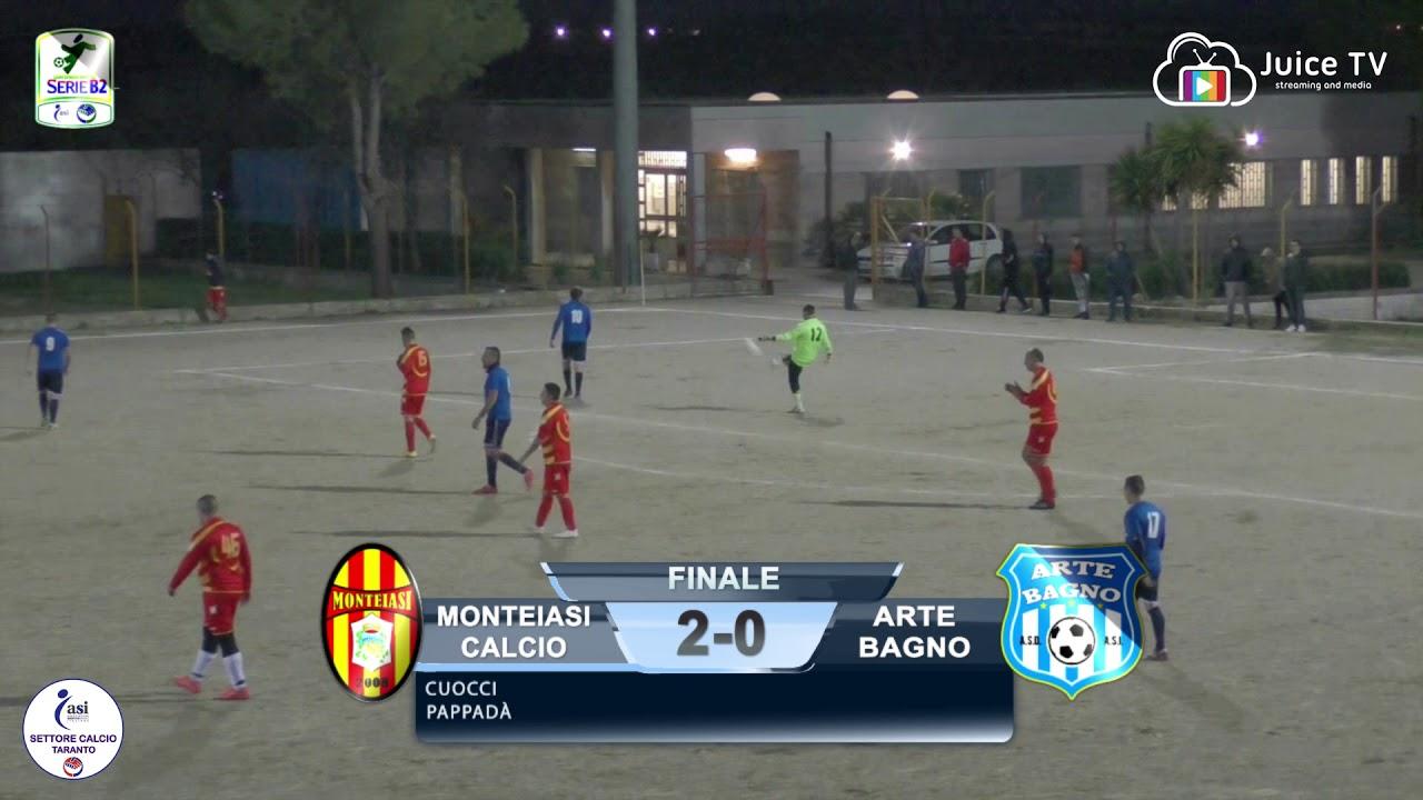 Serie b monteiasi calcio vs asd arte bagno youtube