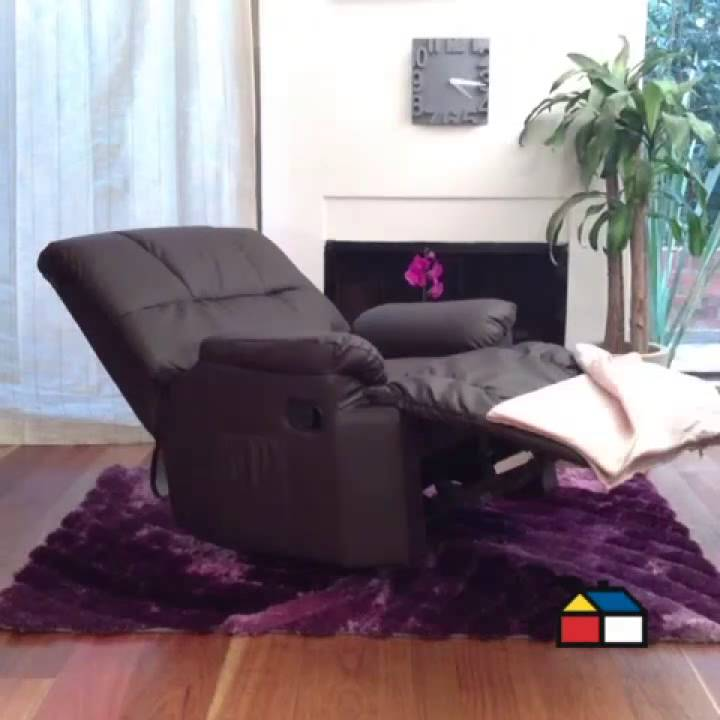 Stop motion home center sill n reclinable youtube for Sillon reclinable