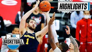 Michigan at Ohio State | Top-5 Matchup Lives up to the Hype | Feb. 21, 2021 | Highlights