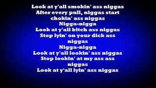 (HD) Nicki Minaj - Lookin Ass Nigga (LYRICS ON SCREEN) (DIRTY)