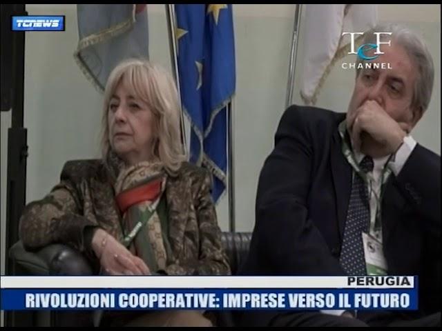 Dino Ricci nuovo Presidente Legacoop Umbria servizio TEF Channel
