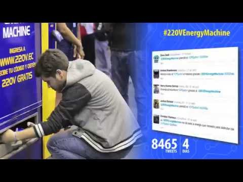 220V Energy Machine en el Campus Party Quito 2014