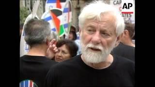 ISRAEL: JERUSALEM: PROTESTS