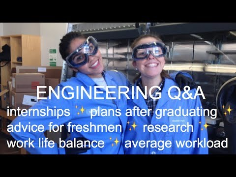 ENGINEERING Q&A 2017 | internships, post-undergrad plans, workload | KAYA EMPIRE