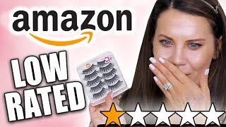 Download TESTING LOW-RATED AMAZON MAKEUP Mp3 and Videos