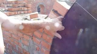 видео кладка арки из кирпича