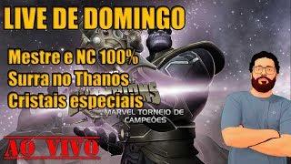 Fechando Mestre e NC 100% e cristais - Marvel Torneio de Campeões