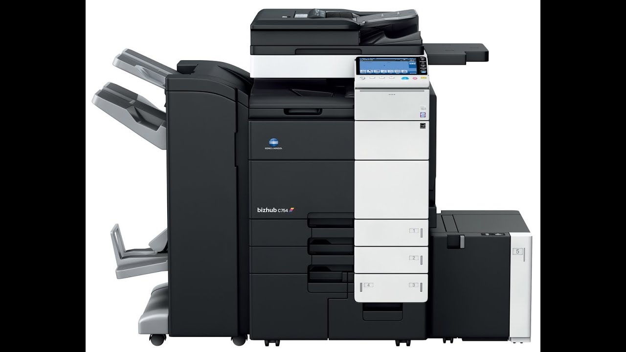 Konica Minolta Bizhub C754 Printer PCL Windows