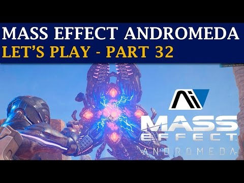 Mass Effect Andromeda Let's Play - Part 32 - Huge Remnant Worm (3440x1440)