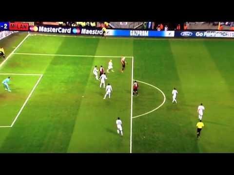 Mexes wonder goal, amazing overhead kick Milan v Anderlecht