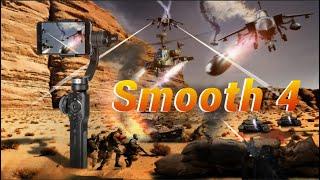 Zhiyun Smooth 4 (Professional ver. of Smooth Q) – Vertigo effect / Smart Tracking and PhoneGo