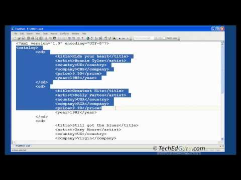 How to Create Simple XML Document