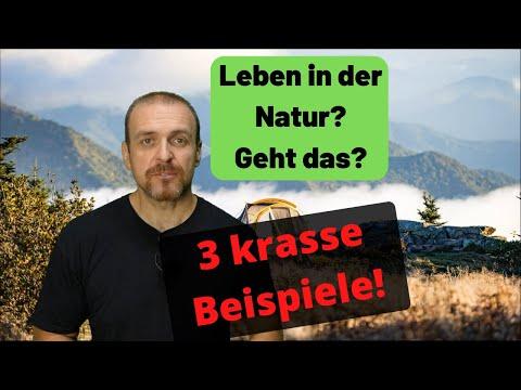 Überleben in der Natur - Geht das? Gibt es Beispiele? ????