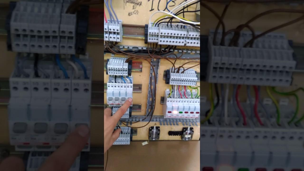 Schema Elettrico Per Avviamento Stella Triangolo : Avviamento di un motore asincrono trifase youtube