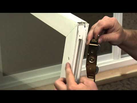 How to Replace the Rollers on a Premium Vinyl Patio Door