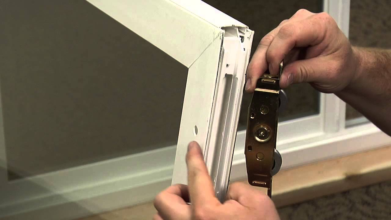 How to replace the rollers on a premium vinyl patio door youtube how to replace the rollers on a premium vinyl patio door planetlyrics Image collections