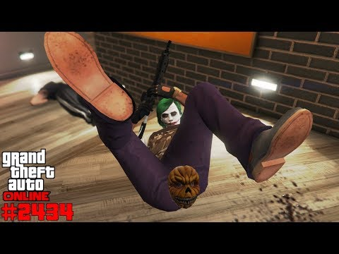 Team Deathmatch in Franklin's Haus #2434 GTA 5 Online YU91