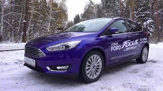 2015 Ford Focus Titanium. Start Up, Engine, and In Depth Tour.(, 2015-11-07T15:24:48.000Z)