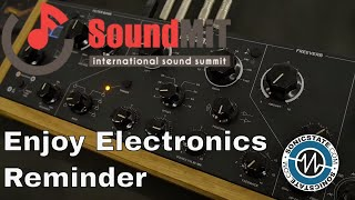 SoundMit 2019: Enjoy Electronics Reminder