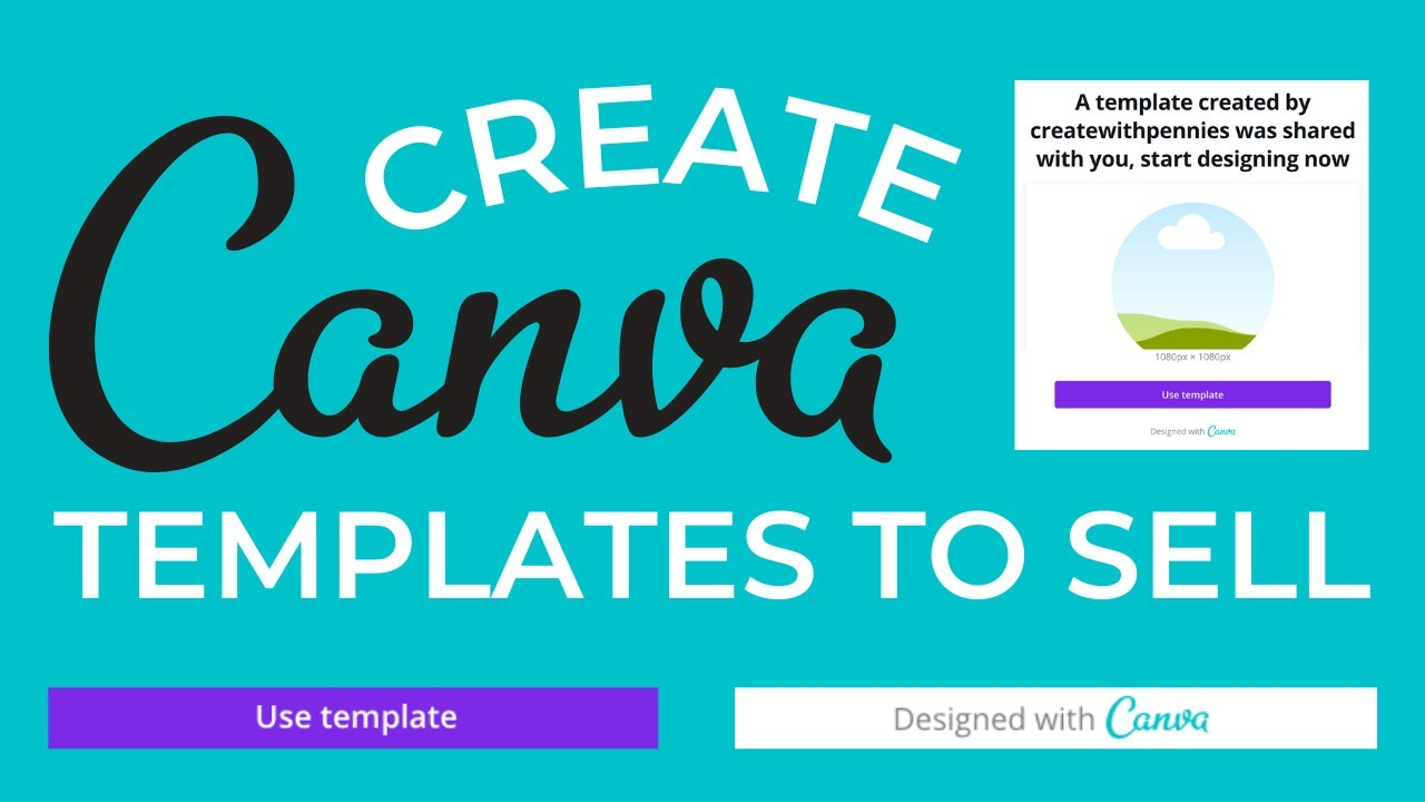 How to Create Canva Templates To Sell For Passive Income | Creating Digital Products To Sell On Etsy