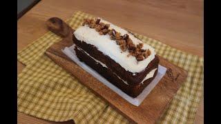 선물로 딱! 맛있는당근케이크만들기_미니오븐 적정온도찾기…