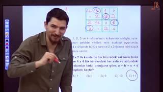 4) İlyas GÜNEŞ - Temel Kavramlar TEST - IV (TYT Matematik Soru Çözüm) 2019