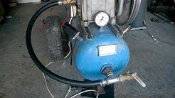 Polttomoottori kompressori