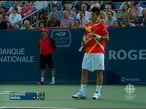 1 - 2007 Montreal Masters 1000 - Djokovic vs Nadal SF - full match tennis