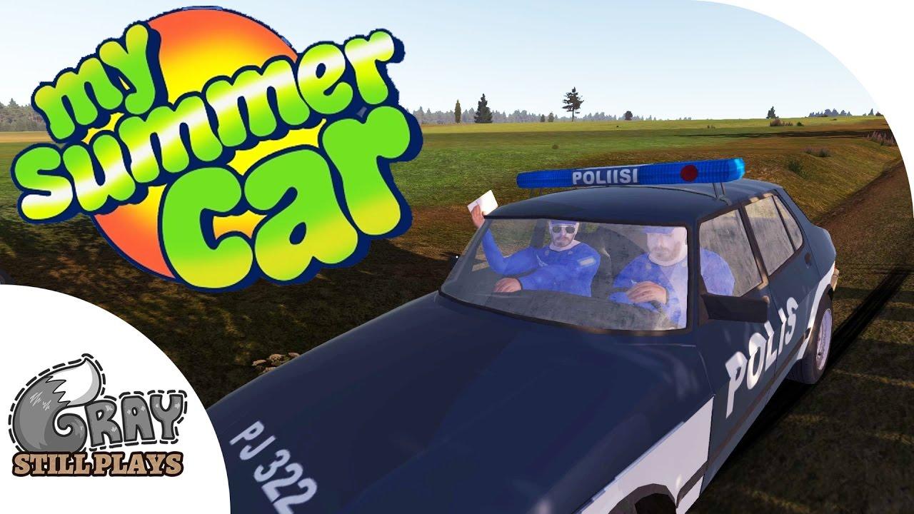 my summer car how to bring car to car shop