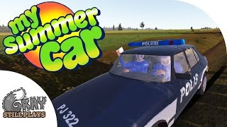 My Summer Car - Pulled Over by The Police! Police Brutality! Funny Glitch - Gameplay Highlights Ep 3