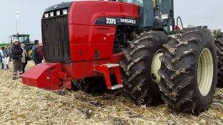 Трактор Versatile 2375 и культиватор Horsch Tiger