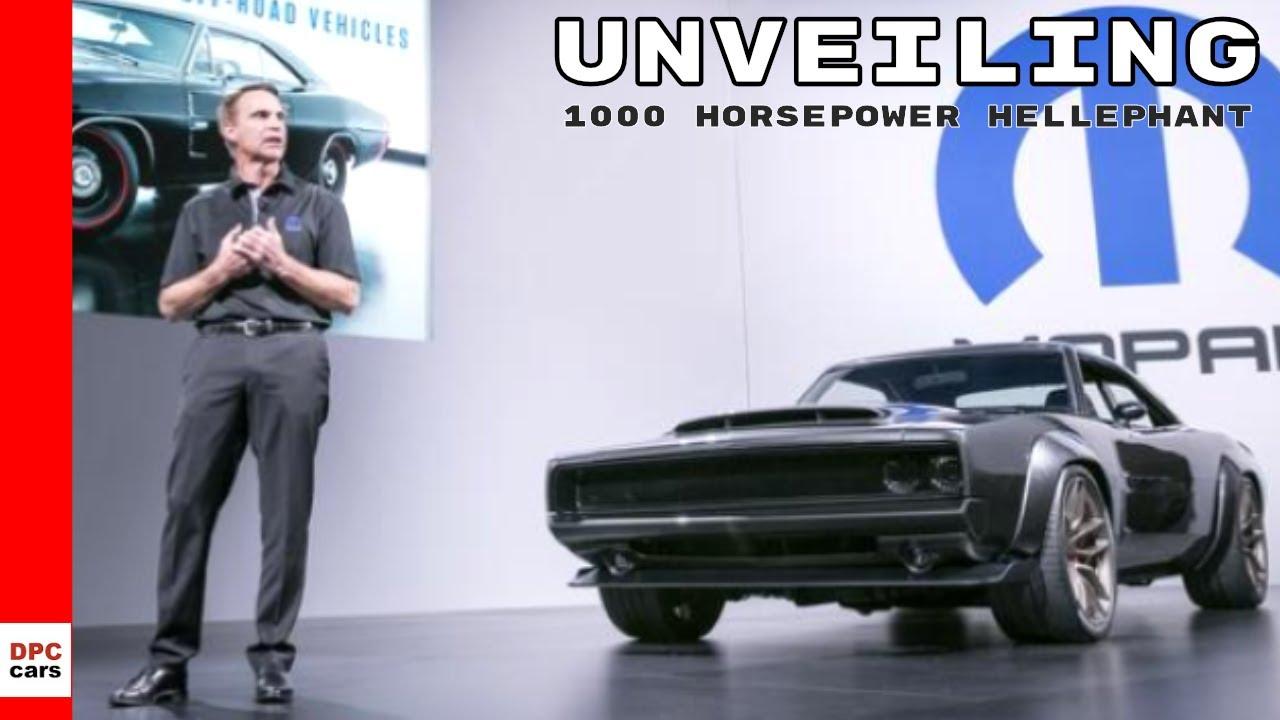 Hellephant 1000 Horsepower 426 Crate Hemi Engine Unveiling Youtube