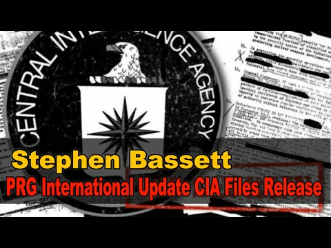 Stephen Bassett PRG International Update CIA Files Release February 1, 2017