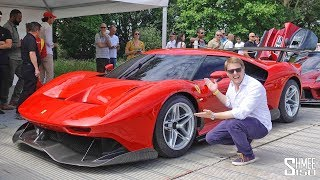 This is the One-off Ferrari P80/C! EXCLUSIVE RIDE FLAT OUT