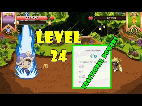 Fraction To A Power | ¡Go To Level 24! | Prodigy Math Game Student |  Part 9 - Games For Childrens