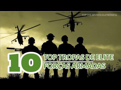 TOP 10 TROPAS DE ELITE DAS FORÇAS ARMADAS DO BRASIL (PARTE 1)