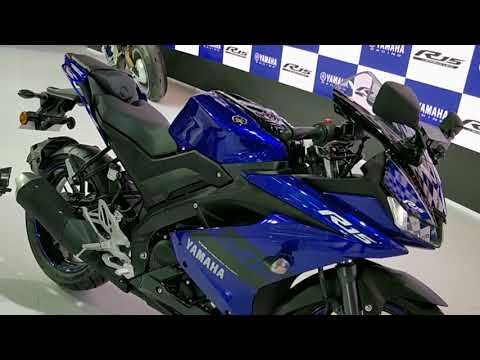 New 2018 Yamaha R15 V3 India Launch, Price, Details : Auto Expo 2018 #ShotOnOnePlus
