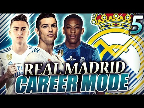 FIFA 18 Real Madrid Career Mode #5 - MARTIAL IS ON FIRE!! WE FINALLY PASS BARCA IN THE LEAGUE?!