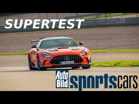 SUPERTEST: AMG GT Black Series.