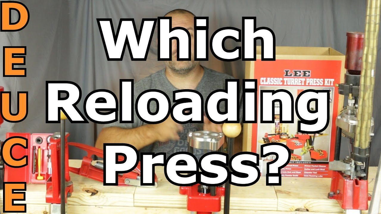 Which Reloading Press is Best For You?